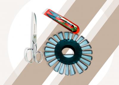 Tijeras Barrilito y Cepillo de Nylon